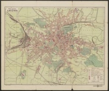 Plan miasta Lwowa