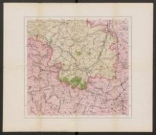 Karte der Umgebungen von Zittau
