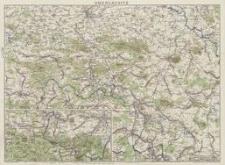 Meinholds Karte der Oberlausitz