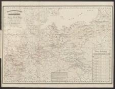 Uebersichts-Karte von der Dislocation der Königl. Preuss. Armee