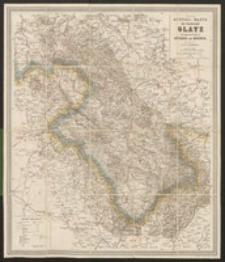 Neue Special-Karte der Grafschaft Glatz : nebst angrenzenden Theilen von Böhmen und Mähren