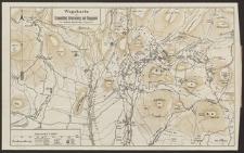 Wegekarte von Krummhübel, Brückenberg und Umgegend