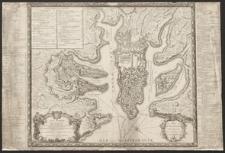 Plan general de la ville capitale de Malte dressé sur les memoires des grands officiers de l'Ordre [...]