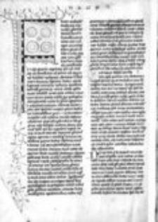 Biblia latina, pars I: Genesis-Ecclesiasticus ; Interpretationes hebraicorum nominum
