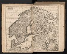 Novissima nec non Perfectissima Scandinaviae Tabula comprehendens Regnorum Sueciae, Daniae et Norvegiae distincté divisam descriptionem