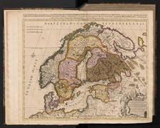 La Scandinavie, et les Environs, ou sont Les Royaumes De Suede, De Danemark et de Norwege, divisés en leurs principales Provinces
