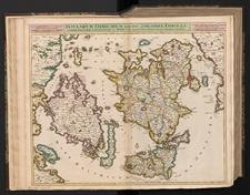 Insularum Danicarum qua sunt Zeelandiae, Fioniae, Lalandiae, Falstriae, Langelandiae, et Monae, cum adjacentibus insulis