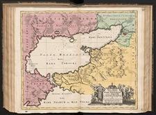 Nova Mappa Geographica Maris Assoviensis vel de Zabache et Paludis Maeotidis, accurate aeri incisa et in luce[m] edita per Matthaeum Seutter.