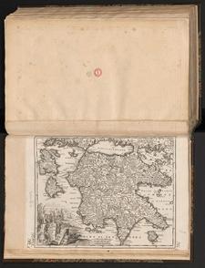 Accurata Moreae olim Peloponesus dictae Tabula
