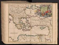 Accuratissima Orientalioris districtus Maris Mediterranei tabula. Authore Iusto Danckerts