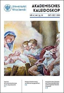 Akademisches Kaleidoskop Jg.11 Nr 4 (44) Oktober-Dezember 2013