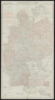 Topographische Karte 1:25000 (Messtischblätter). Skorowidz arkuszy
