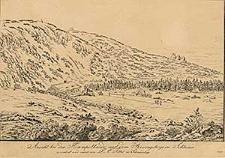 Ansicht bei der Hampelbaude auf dem Riesengebirge in Schlesien