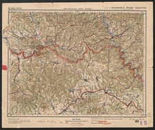 Mapa turystyczna Karpat Polskich. [Ark. 1] Szczawnica-Pieniny-Żegiestów