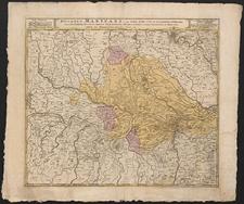 Ducatus Mantuani, ceu Sedis belli 1733-35 recentissima delineatio, una cum Confiniis Ducatus Mediol. Parmensis, Modenensis et Territ. Veronensis et Bresciani
