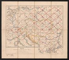 Übersichtskarte von Mittel-Europa. Skelett