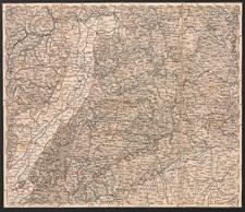 Übersichtskarte von Mittel-Europa. A.2. Mainz, Nürnberg, Strassburg, Ulm