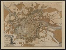 Plan von Breslau und ehemaligen Festungswerken