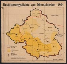 VI. Bevölkerungsdichte von Oberschlesien - 1804