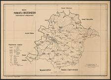 Mapa powiatu brzeskiego : województwo wrocławskie