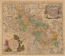 Carte generale du Duche de Silesiae divisee en ses XVII moindres principautes et domaines