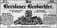 Der Breslauer Beobachter. Ein Unterhaltungs-Blatt für alle Stände. Als Ergänzung zum Breslauer Erzähler 1841-04-29 Jg.7 Nr 51