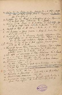 Lusatica, m. in. wyciągi z diariusza Bartolomeusa Scultetusa