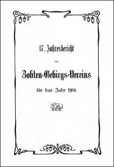 Jahresbericht des Zobten-Gebirgsvereins für das Jahr 1901