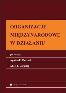 Organizacje międzynarodowe w działaniu