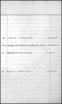 Wom - Wz. [Alphabetischer Bandkatalog der Stadtbibliothek zu Breslau].