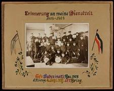 Erinnerung an meine Dienstzeit 1906-1908