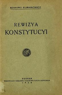 Rewizya konstytucyi