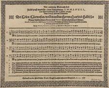 New anmutting Weyhnacht Lied zu Lob, Preiss unnd Ehr dem Newgeborned Emmanuel [...] unnd zu [...] Wolgefallen [...] Ernesto Godefredo und Magno Godefredo Sebischen [...] 4 stimmig gesetzet durch Simonem Beslerum [...].