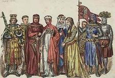 [Ubiory w Polsce 1200-1795. Przez J. Matejkę, 1228-1333, ryc. 6].