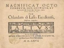 Magnificat octo tonorum, sex, quinque, et quatuor vocum, nunc primum excusa [...]