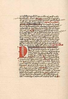 Commentarius in I et II libros Sententiarum Petri Lombardi