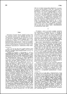 Glosa [do wyroku Sądu Najwyższego - Izba Cywilna z dnia 20 lipca 1966 r. : II CR 198/66]