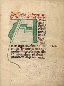 Chronica domus Sarensis; Indiculus ordinum religiosum; Genealogia fundatorum.