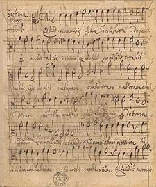 Zbiór utworów wokalnych o treści religijnej i świeckiej.
