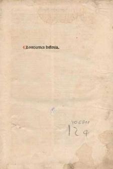 Lombartica historia.