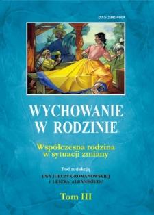 Wychowanie w Rodzinie, T. 3 (2011)