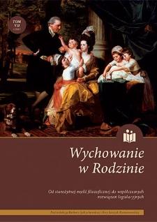 Wychowanie w Rodzinie, T. 7 (1/2013)