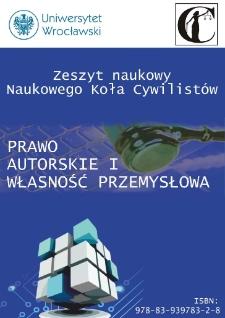 Prawo własności intelektualnej na gruncie prawa polskiego – wprowadzenie