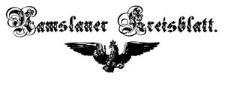 Namslauer Kreisblatt 1856-01-05 [Jg. 11] Nr 1