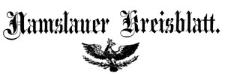 Namslauer Kreisblatt 1863-01-03 [Jg. 18] Nr 1