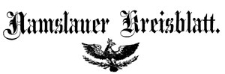 Namslauer Kreisblatt 1863-04-11 [Jg. 18] Nr 15