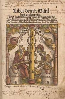 Liber de arte distillandi de Compositis. Das Buch der waren Kunst zu distilliren die Composita un[d] Simplicia [...] / von mir Jheronimo Bru[n]schwyck [...].