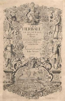 The herball or generall historie of plantes / gathered by John Gerarde [...].