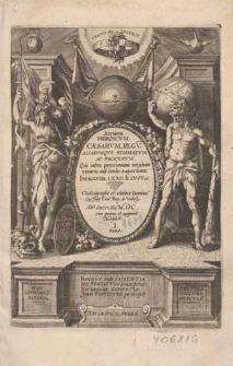 Atrium heroicum caesarum, regum, aliarumque summatum, ac procerum, qui intra proximum seculum vixere aut hodie supersunt [...] / Chalcographo et editore Dominic. Custode [...]] ; pars 1, 2, 3