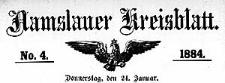 Namslauer Kreisblatt 1884-01-31 [Jg.39] Nr 5